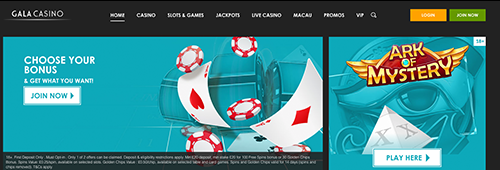 Start your casino experience today