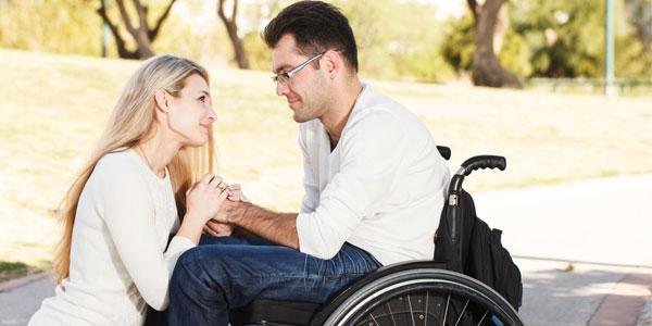 pareja discapacitada