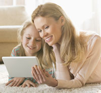 Tech savvy kids help single parents date online