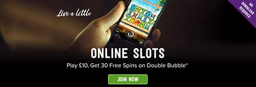 Play online slots today