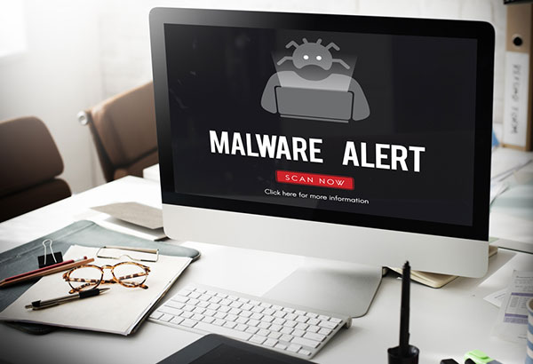 Always scan for malware to stay safe online