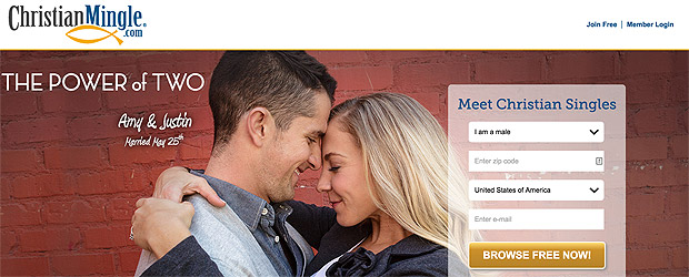 ChristianMingle online dating website