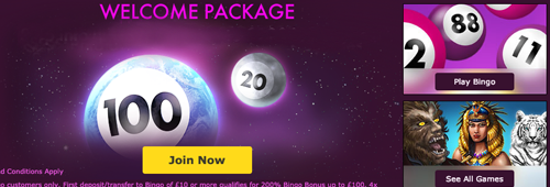 Join Bet365 Bingo today