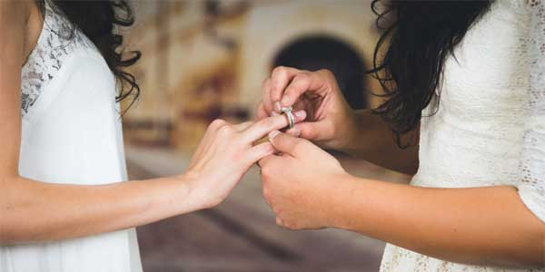Lesbian relationships to marriage a success