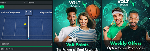 A great range of promotions are available at Volt Casino Sports
