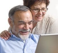 Senior citizens dating online