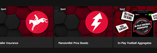 Extra value at Mansionbet