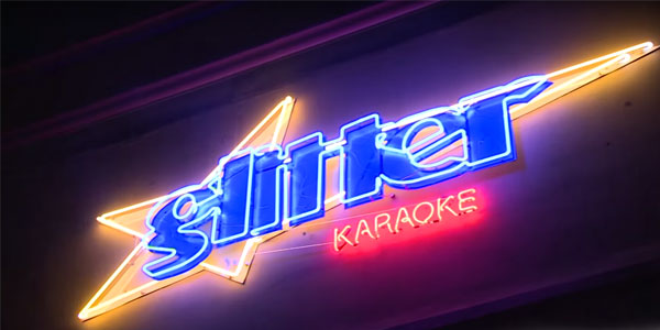 Date night ideas in Houston – Glitter Karaoke