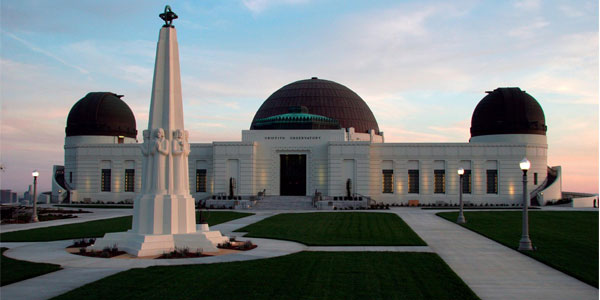 Dating spots in LA – the Griffith Observatory