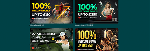 Check out the promotions available at 22Bet