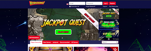 Join Kerching today for an incredible online casino experience