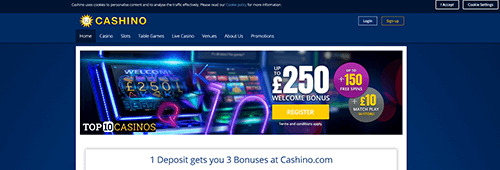 Join Cashino today for a fantastic online casino experience
