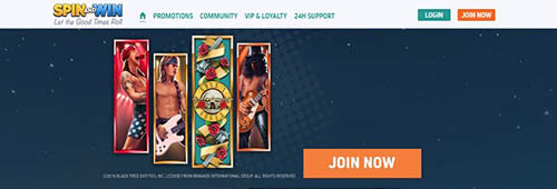 Play lots of video slots at Spin and Win