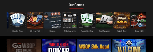 Play a variety of poker tournaments at GGPoker