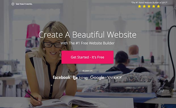 Create a new website with WebStarts