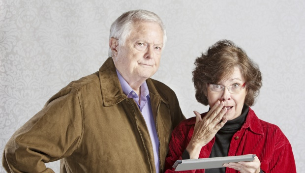 Older couple secret uncovered