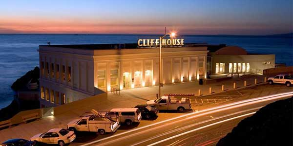 A romantic San Francisco date at Cliff House