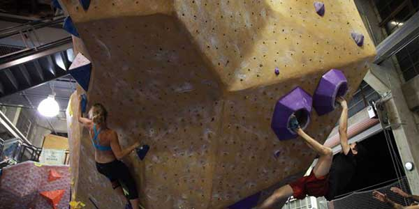 Adventurous San Francisco dates at Planet Granite