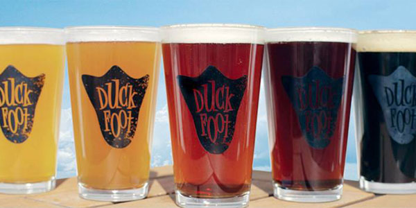 Dating in San Diego at the Duck Foot Brewery