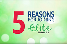 5 reasons to choose EliteSingles video article