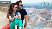 Couple in love met on EliteSingles: See pricing plans