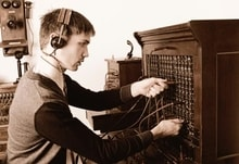 Switchboard operator of old wishing he had VoIP