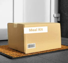 Meal kit box