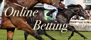 Online betting on horse racing