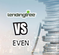 Personal Loans comparison: Lendingtree vs Even