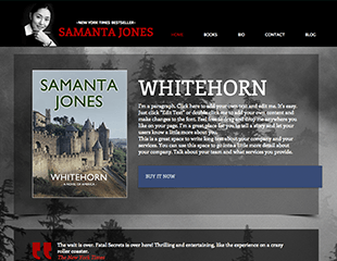 WIX Author Template