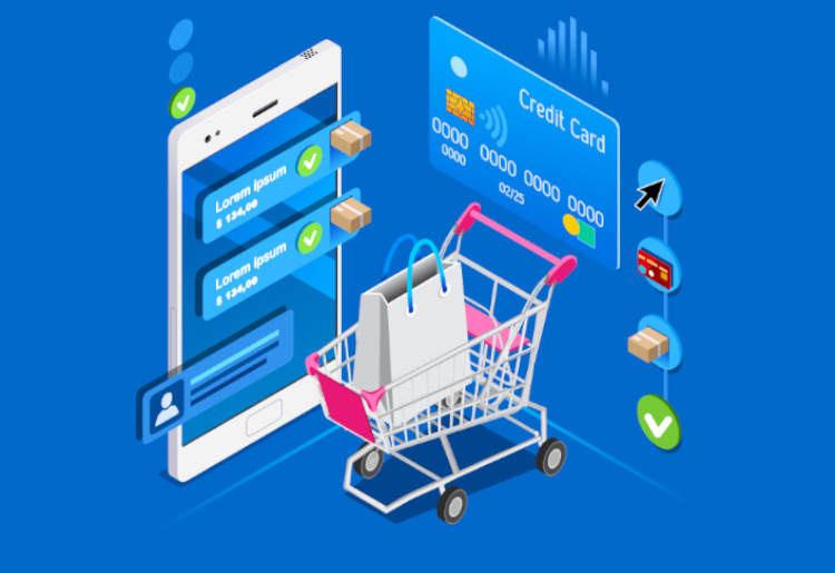 Ecommerce mobile cart