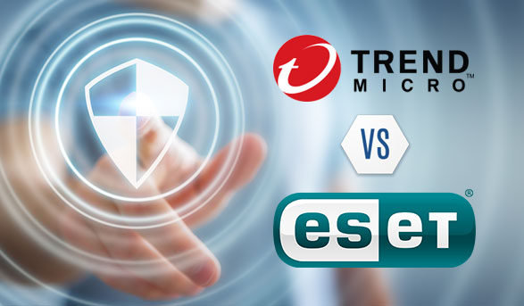 Trend Micro vs. Eset: Head to Head Battle
